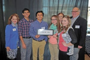 A delegation of Unicoi County students and members of the Unicoi County Board of Education recently attended the annual Student Congress on Policies in Education in Murfreesboro. Attending the event were, pictured from left, board member Lisa White, Sam Murillo, Christian Leon, Ashlynn Gentry, board member Ruth Gaines, Elizabeth Sutphin and Bill Gaines. (Contributed photo)
