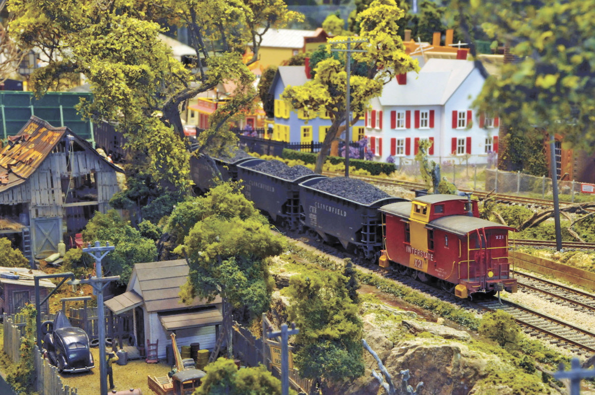Just one of the many exhibits on display at the Carter Railroad Museum. (Contributed photo)
