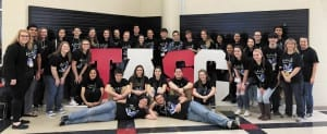 """The UCHS Student Council had the largest delegation in attendance at the 69th Annual Tennessee Association of Student Councils Conference earlier this month. The group also brought home several awards, including the """"Platinum Award."""" (Contributed photo)"""